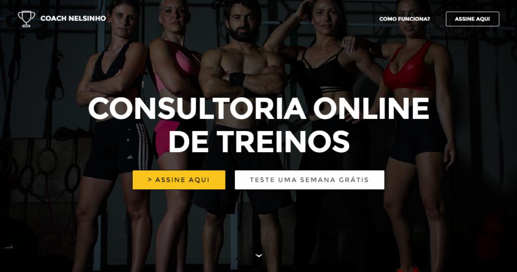 consultoria treinos online