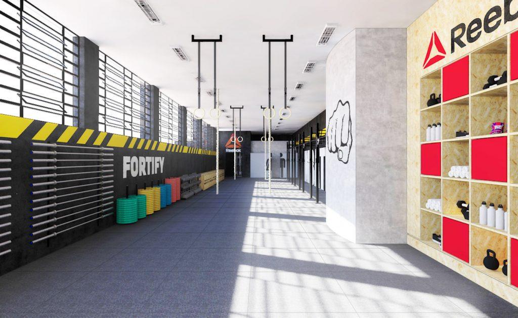 (Imagem: A área de treino da CrossFit Imbátivel (São Paulo-SP) ilustra bem o que é um espaço organizado e livre)